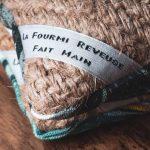 etiquette La Fourmi Reveuse