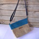 bandy bag bleu pétrole